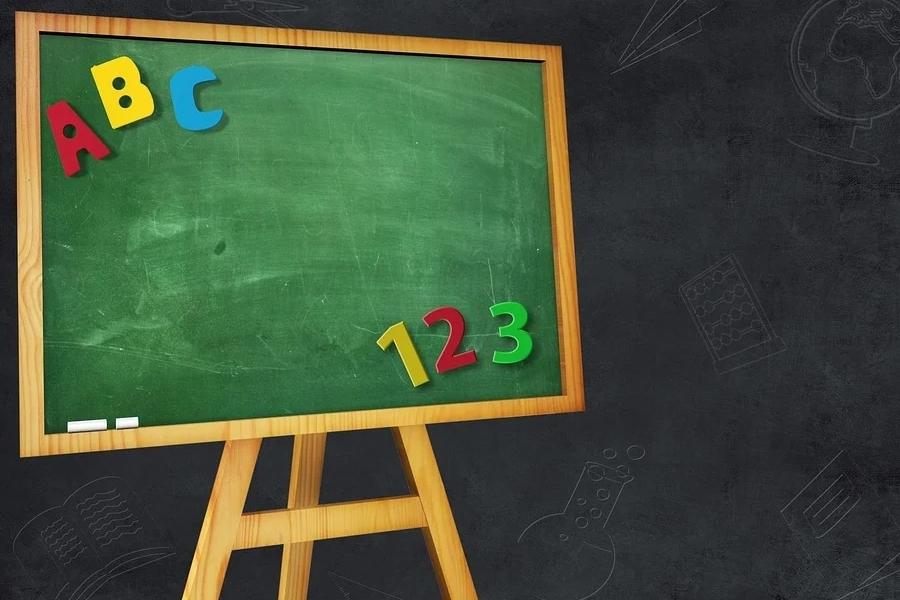 tableau vert scolaire